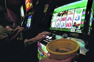Retirees while their time away daily by gambling in highly accessible jackpot rooms, such as this one at Downtown East.