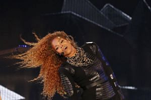 In an online message to fans, Janet Jackson voiced gratitude for her four-month-old son and acknowledged her split with her third husband, Qatari tycoon Wissam Al Mana.