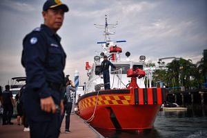 SCDF's Rapid Response Fire Vessel.