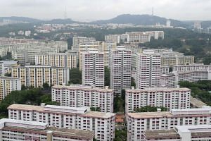 Over the past 10 years, the number of HDB flats shrank in proportion to Singapore's total housing stock.