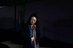 Chinese rights lawyer Li Heping's wife, Wang Qiaoling was fearful his detention would be extended.