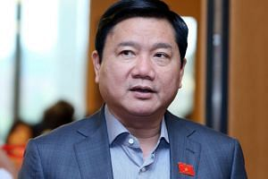 Vietnam's ruling Communist Party dismissed Dinh La Thang from its politburo.