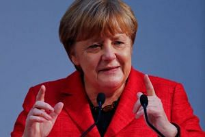 Ms Angela Merkel's Christian Democrats appear to be on a roll.