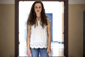 Katherine Langford as Hannah Baker in 13 Reasons Why.