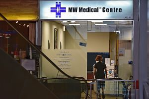 """Two of the clinics involved are MW Medical Centre (Cross Street) and Bedok Day & Night Clinic. They face suspension from the Community Health Assist Scheme if the doctors cannot give """"satisfactory"""" explanations for their actions within two weeks."""