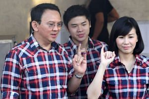 Ahok's wife, Veronika Tan, and his eldest son, Nicholas Sean Purnama, are willing to be guarantors for the jailed Jakarta governor so that he can be released pending an appeal.