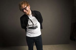 British singer Ed Sheeran.