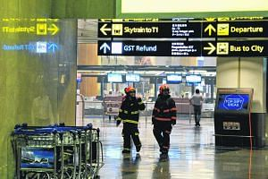 Hundreds of passengers were evacuated from Changi Airport's Terminal 2 on May 16 after a small fire broke out.