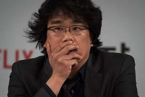 South Korean director Bong Joon Ho at a press conference in Seoul on Tuesday (May 16).
