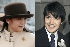 Princess Mako (left) is expected to marry her university classmate Kei Komuro in 2018.