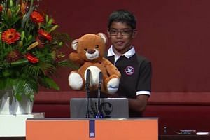 Tech prodigy Reuben Paul stunned experts by hacking into their devices using a teddy bear at a cyber security conference in The Netherlands.
