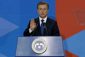 South Korean President Moon Jae In said that South Korea was ready and capable of striking back should the North attack.