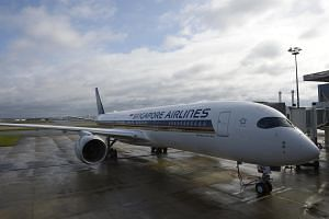 Singapore Airlines reported a net loss of $138.3 million for the fourth quarter ended Mar 3.