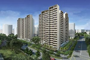 The HDB launched Pine Vista in Geylang, a BTO project with 319 units, yesterday.