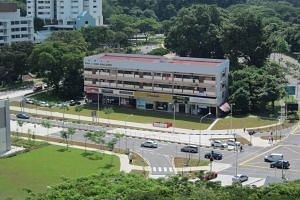 Built in the late 1980's, the freehold property at 110 to 122 Upper Bukit Timah Road comprises seven apartments and seven shops.