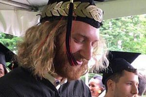 Above: Mr Taliesin Myrddin Namkai Meche had graduated from Reed College with an economics degree last year. His mother, Madam Asha Deliverance, called her son a hero for standing up for two women he did not know. Left: Jeremy Joseph Christian, who wa