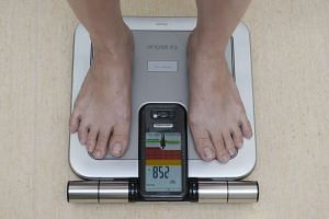 BIA machines used to measure a person's body-fat percentage can be found in hospitals, gyms and clinics.