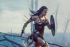 Gal Gadot plays Amazonian warrior princess Diana Prince in Wonder Woman.