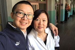 Mr Steven Liew and his wife, Ms Devin Tan, launched their company Cosmic Cafe in Fukuoka in January, with the goal of helping other entrepreneurs turn their visions into successful companies.