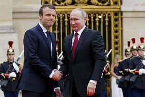 French President Emmanuel Macron's penchant for speaking his mind is well known - in the past week, he blasted Russian-owned media while standing next to Russian President Vladimir Putin during the latter's visit to France.