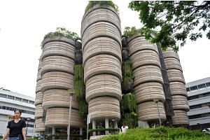 The Hive, Nanyang Technological University's learning hub.