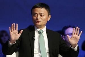 Alibaba executive chairman Jack Ma, attends the annual meeting of the World Economic Forum in Davos, Switzerland, Jan 18, 2017.