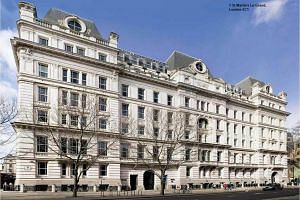 1 St Martin's Le Grand, a freehold property in the heart of London, owned by property developer Ho Bee Land.