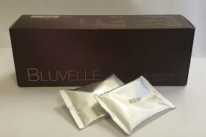 Nutriline Bluvelle, which is marketed as a health supplement for slimming, contains the banned substance, sibutramine.