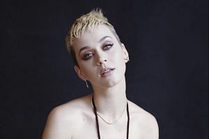 Katy Perry is undertaking a strenuous effort to prove she isn't the same frothy Katy Perry as before, making over her look, her music and her vocabulary.