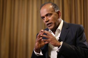 Home Affairs and Law Minister K. Shanmugam addresses Oxley Road dispute.