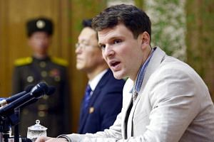 Otto Warmbier was detained last January in North Korea and sentenced to 15 years of hard labour.