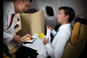 While back-of-the-plane cuisine doesn't exactly have a reputation for being appetising, several carriers are elevating their main cabin food on long-haul flights.