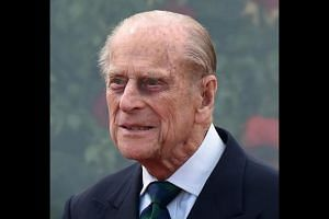 A file photo of Prince Philip taken on May 13, 2016. The 96-year-old husband of Britain's Queen Elizabeth has been discharged from hospital on Thursday (June 21).