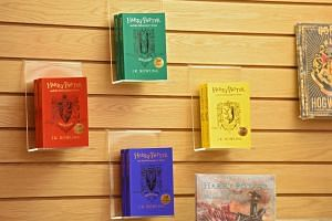 Paperback versions of Harry Potter and the Philosopher's Stone were released in the four Hogwarts house colours to mark the 20th anniversary of the publication of Harry Potter And The Philosopher's Stone.