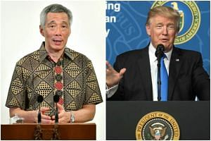 Prime Minister Lee Hsien Loong will be meeting US President Donald Trump at the G-20 summit in Hamburg next week.