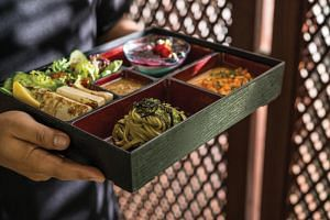 Reiko Tsunabuchi, a cooking instructor at the Ecole de Cuisine Egami in Tokyo recommends heating ingredients until they are cooked through and sufficiently cool them before arranging them in the bento box to prevent food poisoning.