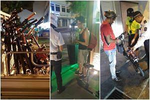 The Land Transport Authority (LTA) impounded eight personal mobility devices (PMD) during an enforcement operation in Geylang in June.