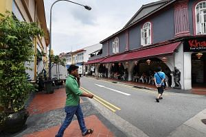 There are stricter controls in the Liquor Control Zones of Little India (left) and Geylang, which are deemed to be places with higher risk of public disorder because of excessive drinking. While residents welcome the increase in safety, businesses th