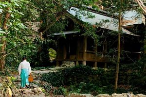 One Shinto priest is stationed at all times on Okinoshima, each serving for a ten-day shift.