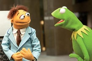 Kermit The Frog in The Muppets. Steve Whitmire had voiced the iconic green felt puppet since its creator and original puppeteer Jim Henson died in 1990.