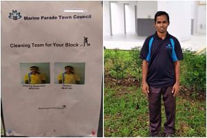 "Marine Parade Town Council cleaner Moktar found unexpected online fame as the ""ownself supervise ownself"" cleaner."