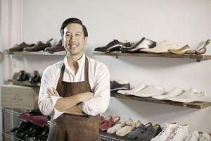 Bespoke shoemaker Joshua Leong is passionate about creating customised leather shoes that offer a perfect fit.