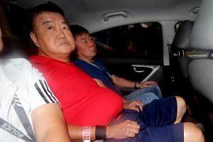 Tan Nam Seng, 69, will be charged in court for stabbing his son-in-law Mr Spencer Tuppani Shamlal Tuppania, 39, at Boon Tat Street.