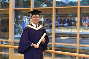 Mr Joseph Yang was on the Dean's List for exceptional students throughout his four years in university.