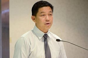 Minister for Social and Family Development Tan Chuan-Jin.