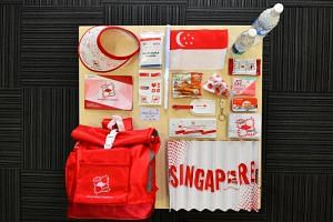 The contents of the funpack at the National Day Parade 2017, which will be one of the lightest in parade history.