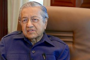 Dr Mahathir Mohamad was announced as the chairman of the four-party Pakatan Harapan on July 14.