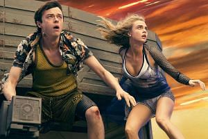 Dane DeHaan and Cara Delevingne (both above) play a sourpuss-and-slob odd couple in Valerian And The City Of A Thousand Planets, while Suki Waterhouse stars in The Bad Batch.