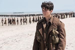 Little-known British actor Fionn Whitehead is the expressive face at the heart of Dunkirk, a war movie that is more about survival than combat.