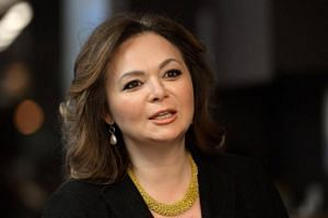 A picture taken on November 8, 2016 shows Russian lawyer Natalia Veselnitskaya speaking during an interview in Moscow.
